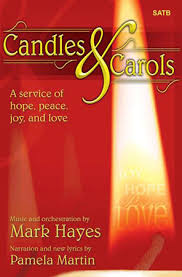 candles and carols satb singer s edition nb j w pepper sheet