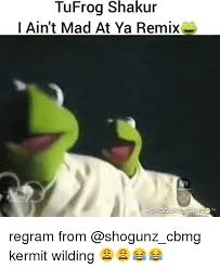 I Aint Mad At Cha Meme - tufrog shakur i ain t mad at ya remix shogunz cbm regram from