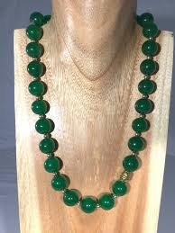 emerald green fashion necklace images Madison emerald green jade necklace dara jane jewellery jpg