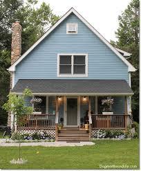 Cottage Curb Appeal - blue cottage garden landscaping progress hometalk