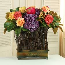 home decor cool artificial flower decoration for home beautiful