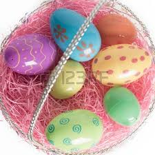 decorative eggs that open decorated plastic easter egg open with colorful jelly beans out