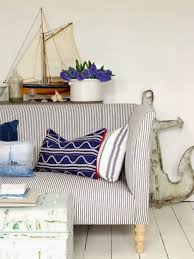 Anchor Home Decor by Living Room With Nautical Decor Like Miniature Sail Boat And