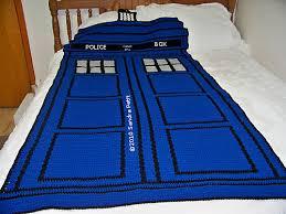 Dr Who Duvet Tardis Doctor Who Crochet Pattern Ravelry Blue Police Box