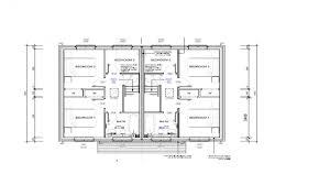 semi detached floor plans two bedroom semi detached house plan duplex townhouse modern plans