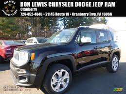 renegade jeep black 2016 jeep renegade limited 4x4 in black c75366 all american