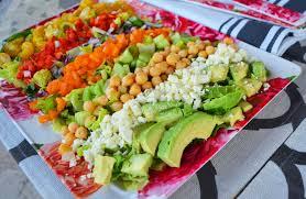 color me pretty salad modern honey