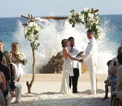 Beach Wedding Elena Damy Jena U0026 Chase U0027s Intimate Beach Wedding Elena Damy