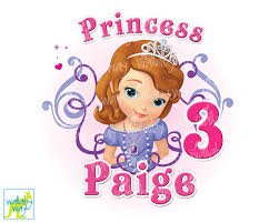 sofia the birthday princess sofia the birthday printable iron on transfer