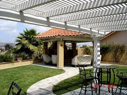 Gazebo For Patio Wooden Arbor Gazebo And Patio Cover Structures San Diego