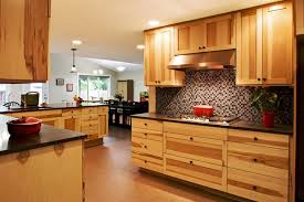 Hickory Kitchen Cabinets Useful Tips For Applying Hickory Kitchen Cabinets Kitchen Ideas