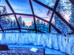 finland northern lights hotel watch the northern lights from glass igloos at hotel kakslauttanen