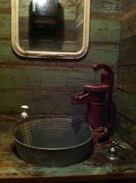 Rustic Cabin Bathroom Ideas - the 25 best rustic bathroom sinks ideas on pinterest rustic