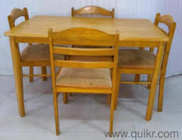 used wood dining table used dining tables online in vasaivirar home office furniture in
