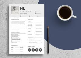 good resume designs free unique resume design cv template in psd u0026 ai files good