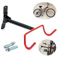 yaetek bike wall mount rack storage hanger foldable bicycle