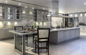 kitchen room grey kitchen island white granite faux countertop
