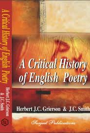 critical history of english poetry