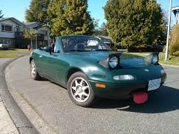 porsche british racing green this is my first car its 1994 miata 1 8 in british racing green