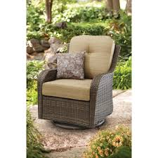 Walmart Patio Furniture Wicker - better homes and gardens mckinley crossing all motion chair