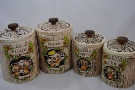 owl canisters for the kitchen 28 images metlox poppytrail
