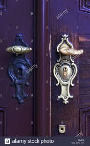 ornamental door handle stock photo royalty free image 52206933