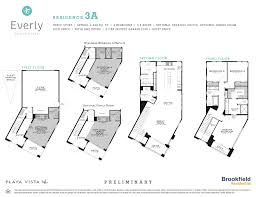Brookfield Homes Floor Plans by Everly At Playa Vista Playa Vista Realtor