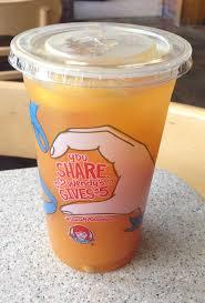 thirsty dudes wendy u0027s fruitea chillers orange mango