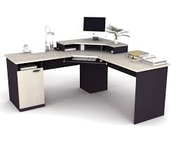 other design angelic decorating ideas using rounded silver desk
