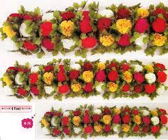 Indian Wedding Flower Garlands Page 2 Indian Style Wedding Decoration Mandap Throne Mandap