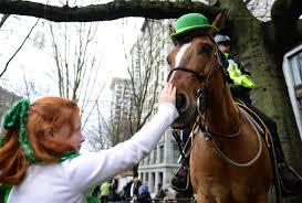 st patrick u0027s day parade irish festival turning seattle green