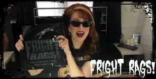 fright rags shirt unboxing youtube