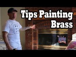 Where To Buy Fireplace Doors by Brass Painting Hacks Instructions Painting A Brass Fireplace