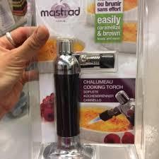 chalumeau de cuisine mastrad le chalumeau mastrad zôdio