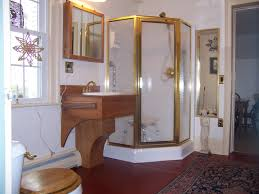 Cute Bathroom Ideas For Apartments Yellow Chair With Brown Wooden Frame Combined With White Table And