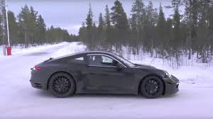 porsche winter next porsche 911 caught winter testing in europe the drive