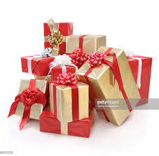 gift boxes christmas pile of christmas gift boxes stock photo getty images