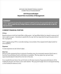 committee report template 569 best budget template images on budget templates