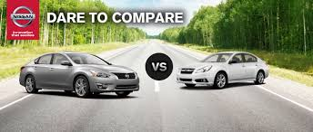 subaru cars 2014 nissan altima vs 2014 subaru legacy