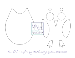 owl template printable just cut these out for the kids to put