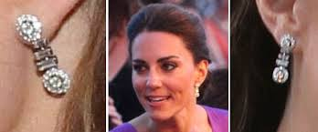 kate middleton diamond earrings it s packham for s 60th anniversary coronation service