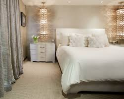 gemütliche schlafzimmer nachttischle sanftes licht fürs bett schöner wohnen