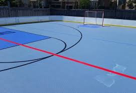 Backyard Hockey Download Synthetic Ice Basement And Backyard Rink Kits Hockey Shooting