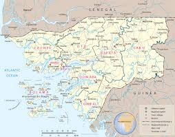 Guinea Africa Map by Map Of Guinea Bissau Travel Africa