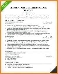 sample elementary teacher resume teacher resume drive on