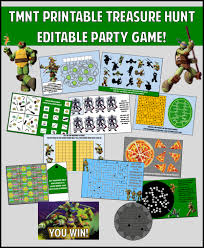tmnt party games