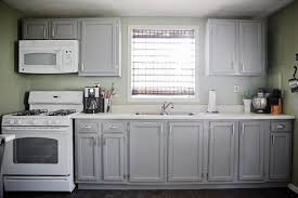 Gray Cabinets With White Countertops Simple Kitchen Appliance Cabinets Greenvirals Style