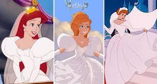 disney princess wedding dresses which disney princess has the best wedding dress m magazine