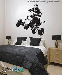 vinyl wall decal sticker quad bike jh240