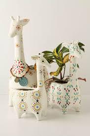 porcelain giraffe ring holder images Giraffe planters tickle my fancy pinterest giraffe jpg